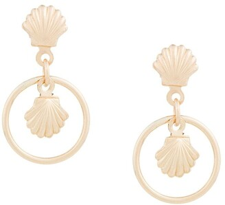 Petite Grand Shell earrings