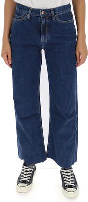 Simon Miller Wide Leg Denim Jeans