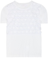 See by Chloe Embellished cotton T-shirt