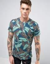Diesel T-Joe-Mg Palm Camo T-Shirt