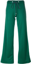 Dondup side stripe flared trousers