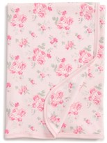 Little Me Infant Girl's Pink Rose Receiving Blanket