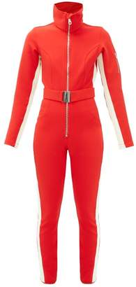 Cordova Aspen High-neck Belted Ski Suit - Womens - Red