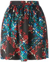 Manoush MANOUSH PLAID PRINT SKIRT