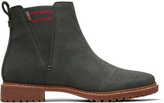 Water Resistant Dusty Olive Suede Women's Cleo Boots