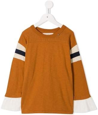 Go To Hollywood striped sleeve sweatshirt