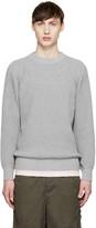 Sacai Grey Knit Sweater