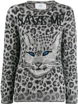 Alberta Ferretti animal print jumper