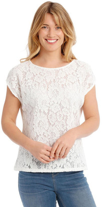 Regatta Lace Front Short Sleeve Tee