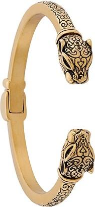 Nialaya Jewelry Jaguar Head Bracelet