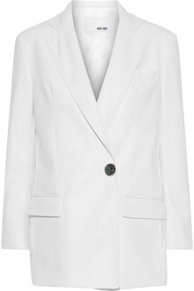 Each X Other Faux Leather Blazer