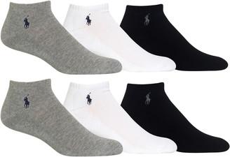 Polo Ralph Lauren 6-Pack No-Show Socks