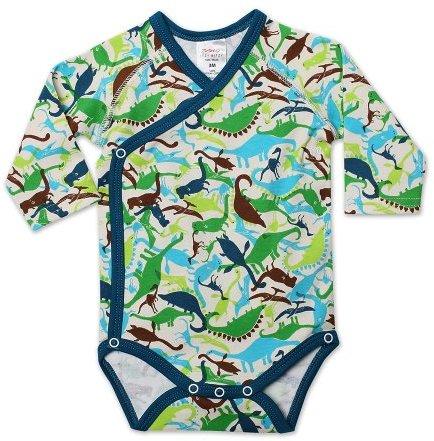 Zutano Baby-Boys Infant Dinos Long Sleeve Body Wrap