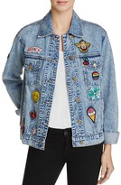 Honey Punch Patch Denim Jacket