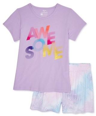 Cheetah Girls Graphic T-Shirt and Running Shorts, 2-Piece Set, Sizes 4-18 & Plus