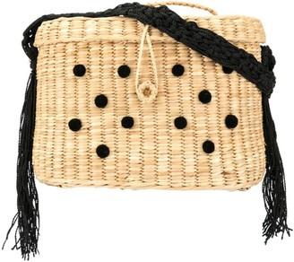 Nannacay Kiki Pompom medium bag