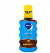 Nivea Sun Protect & Bronze Tan Activating Oil SPF20 200ml
