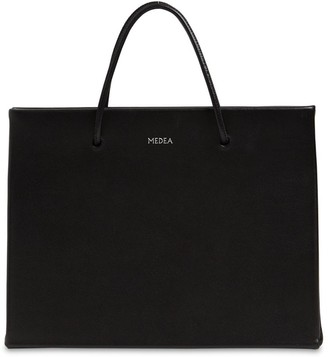 Medea Hanna Leather Top Handle Bag