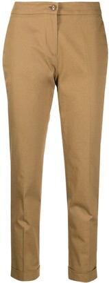 Etro Cropped Tailored Trousers