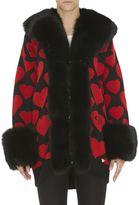 Philipp Plein Horned Adder Knit Coat