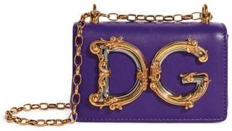 Dolce & Gabbana Micro Leather Girls Cross-Body Bag