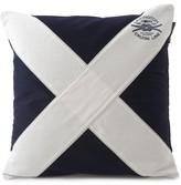Lexington Seaside Flag Blue/White Cushion Cover - 50x50cm