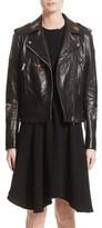 Belstaff Women's Mariner Marving-T Leather Moto Jacket