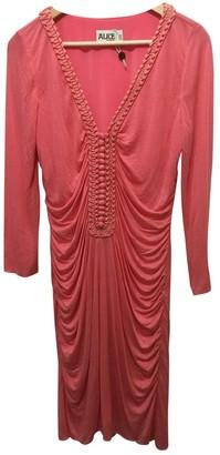 ALICE by Temperley Orange Cotton Dress for Women