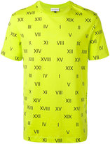 Gosha Rubchinskiy roman numerals T-shirt - men - Cotton - L