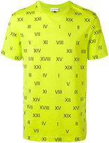 Gosha Rubchinskiy roman numerals T-shirt - men - Cotton - XS