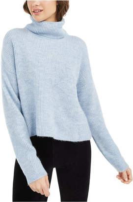 Sun + Moon Boxy Turtleneck Sweater