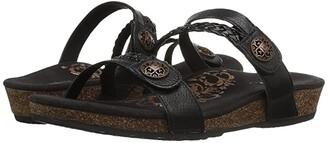Aetrex Janey (Black) Women's Shoes