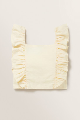Seed Heritage Frill Cropped Top