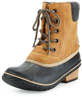 Sorel SlimpackTM II Lace-Up Short Boot, Elk/Black