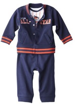 Carter's JUST ONE YOU® Made by Infant Toddler Boys' 3 Piece Cardigan Set - Navy/White/Orange