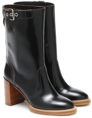 Gabriela Hearst Garrett leather boots