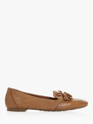 Dune Geenies Leather Tassel Loafers