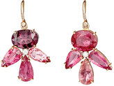 Irene Neuwirth Women's White Diamond & Pink Tourmaline Drop Earrings