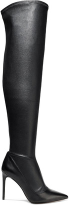 Alice + Olivia Clayvee Stretch-leather Over-the-knee Boots