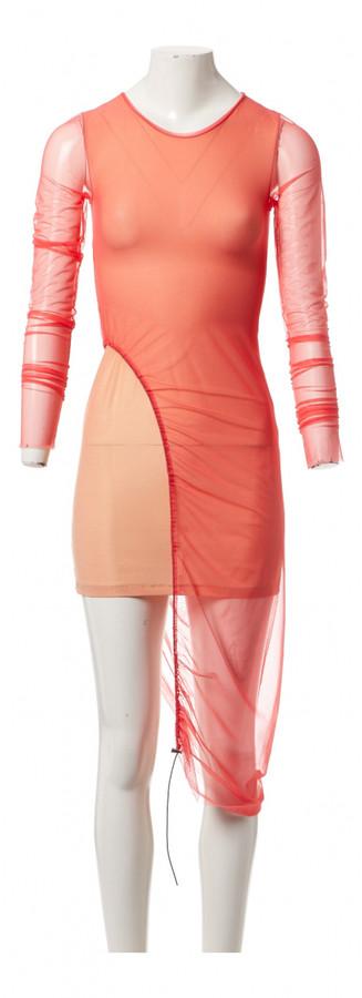 Thumbnail for your product : Supriya Lele Pink Polyester Dresses