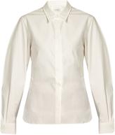 Lemaire Point-collar cotton-poplin shirt