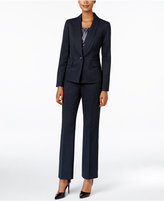 Le Suit Three-Piece One-Button Pantsuit