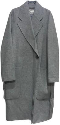 Acne Studios Grey Wool Coat for Women