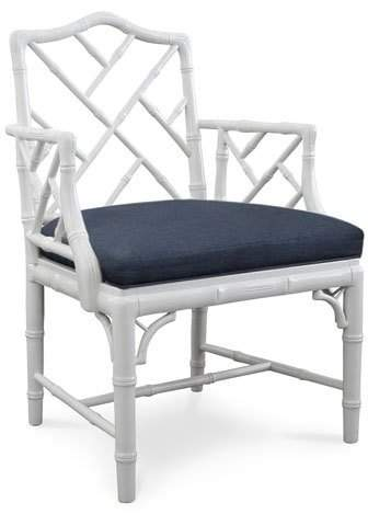 Jonathan Adler Chippendale-Style Armchair