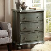 Madison Park Restoration 3-Drawer Chest in Antique Blue