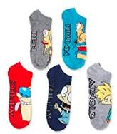 Nickelodeon Women's Nick the Splat 5 Pack No Show Socks