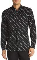The Kooples Giant Dots Slim Fit Button-Down Shirt