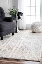 nuLoom Sarina Diamonds Rug - Grey