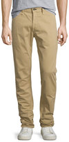Rag & Bone Standard Issue Four-Pocket Relaxed Trousers, Khaki