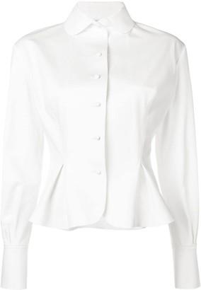 Ermanno Scervino Peplum Shirt